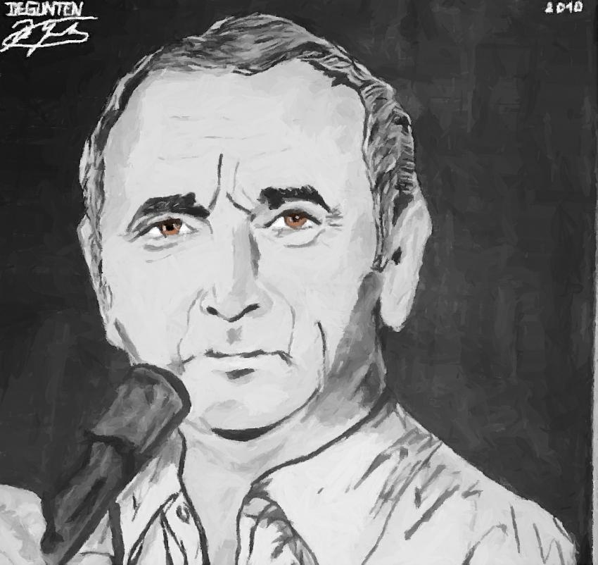 Charles Aznavour por JIM